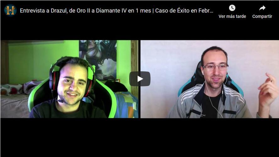Entrevista a Drazul, de Oro II a Diamante IV en menos de 1 mes
