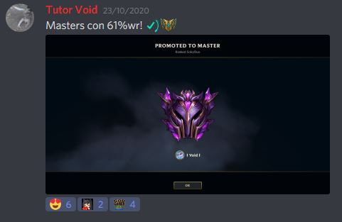 3 personas han alcanzado el Diamante y una el Master!!