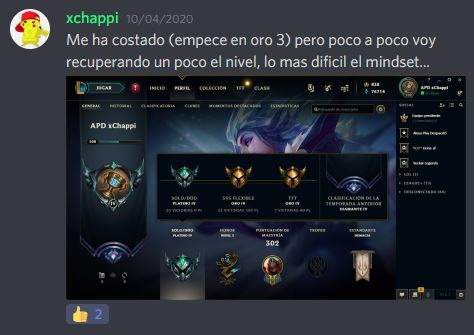 Avance Challenger Army Abril 2020